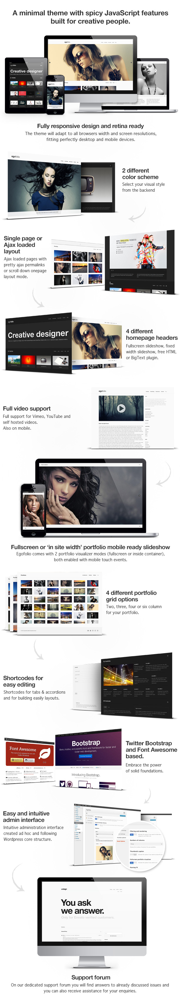 responsive minimal wordpress theme