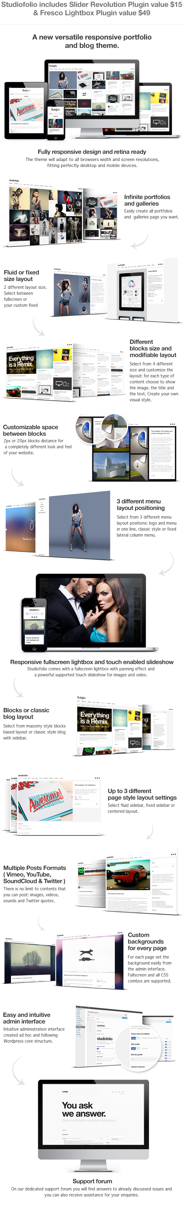 responsive versatile wordpress theme