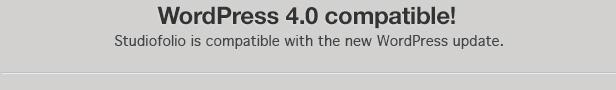 wp 4.0 comaptible