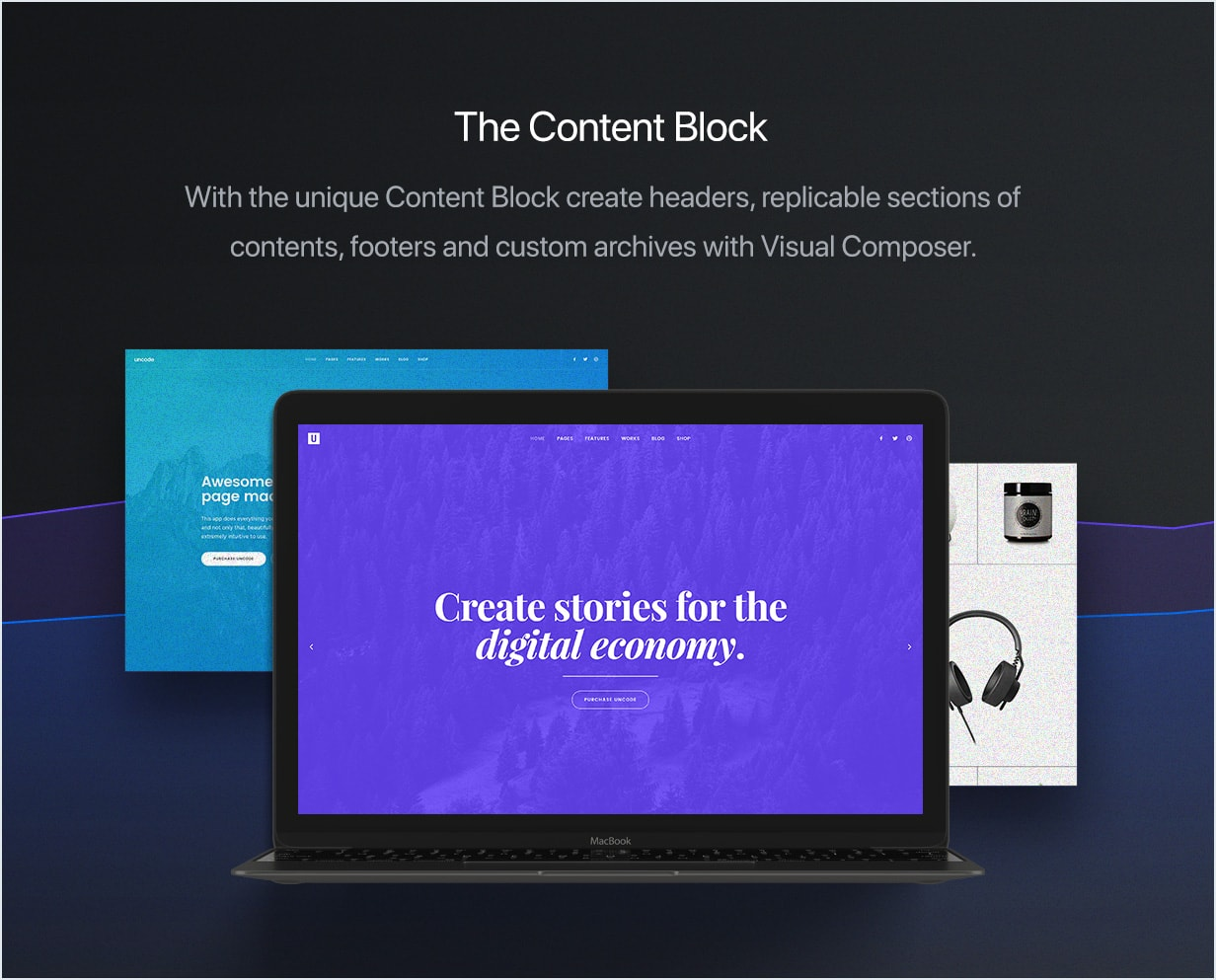 Content Block  - content block min - Uncode – Creative Multiuse WordPress Theme