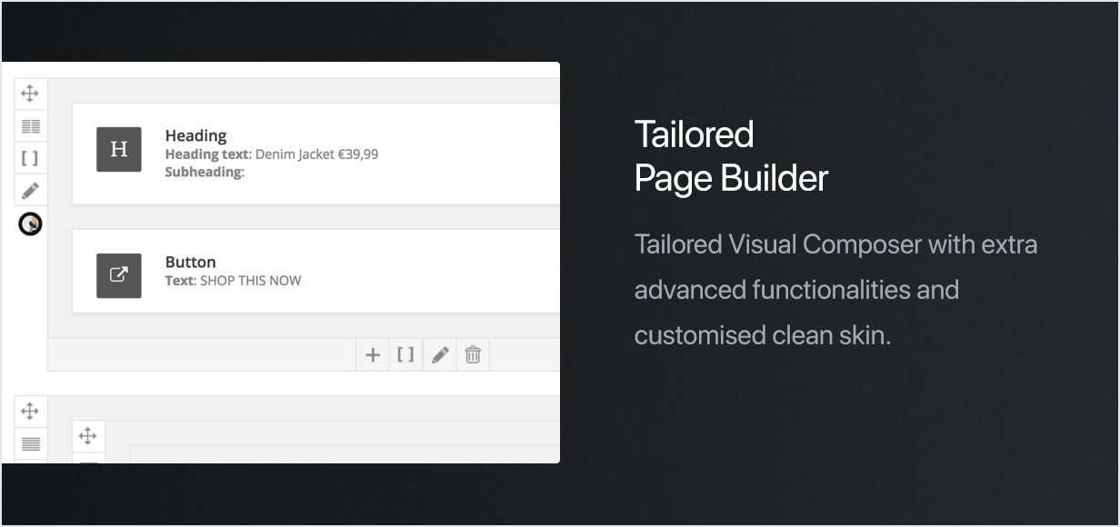 Visual Composer  - feature composer min - Uncode – Creative Multiuse WordPress Theme