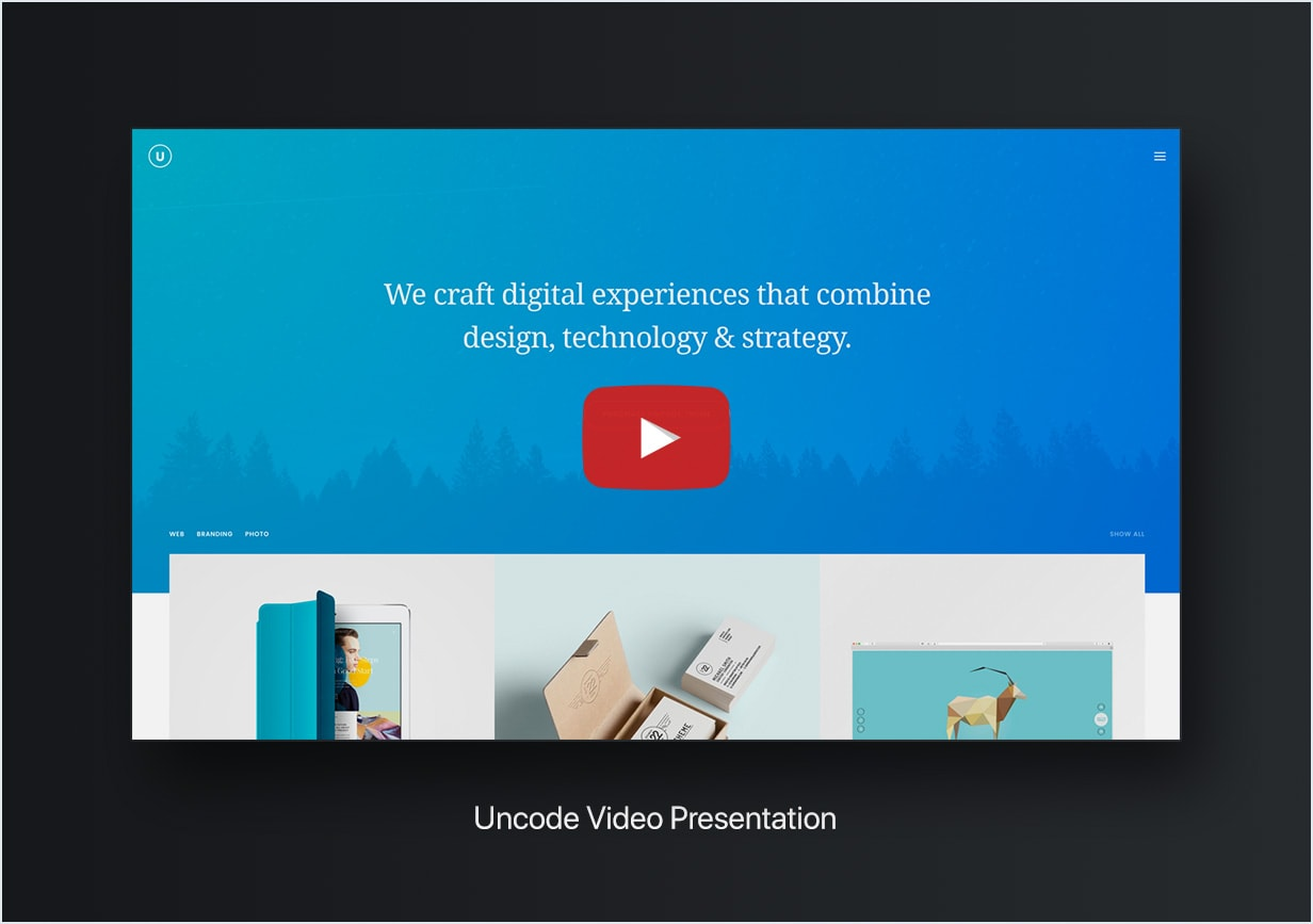 Uncode Video  - video min - Uncode – Creative Multiuse WordPress Theme