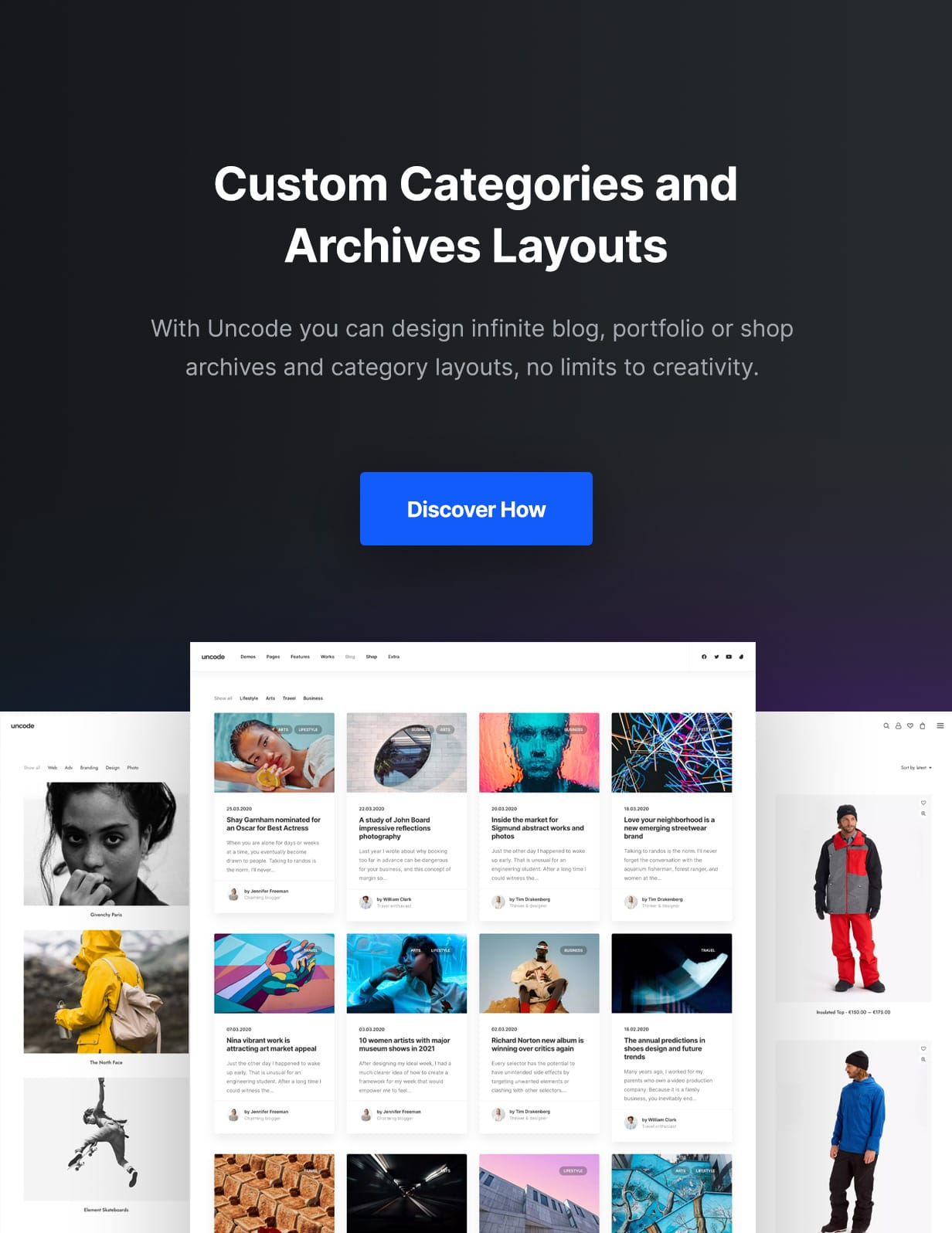 Uncode - Creative Multiuse & WooCommerce WordPress Theme - Archives