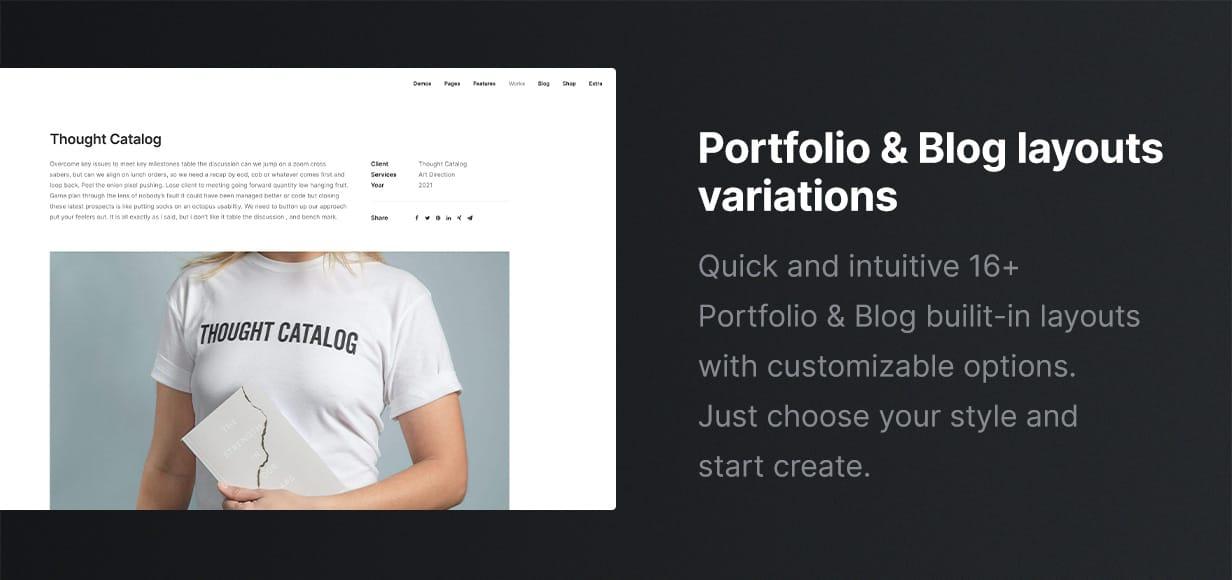 Uncode - Creative Multiuse & WooCommerce WordPress Theme - Layouts