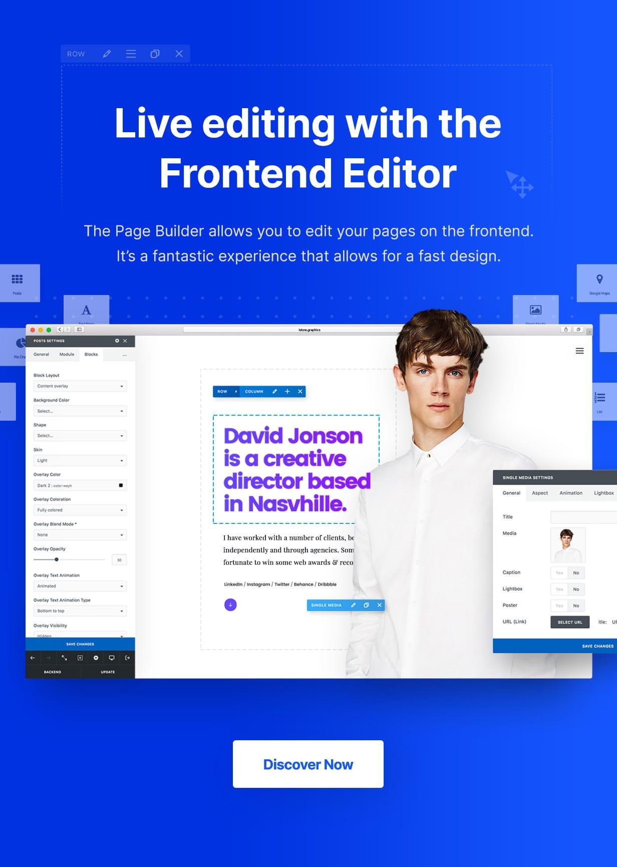 Uncode - Creative Multiuse & WooCommerce WordPress Theme - Page Builder
