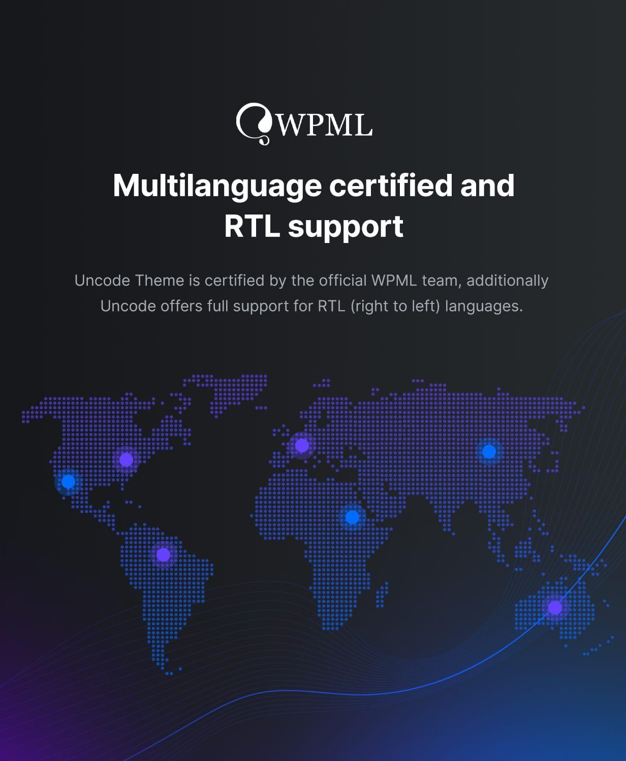 Uncode - Creative Multiuse & WooCommerce WordPress Theme - WPML and RTL Support