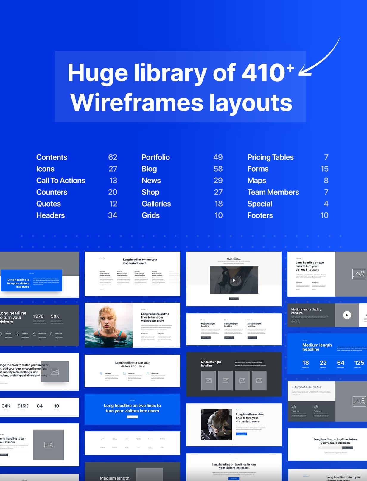 Uncode - Creative Multiuse & WooCommerce WordPress Theme - Wireframes Plugin