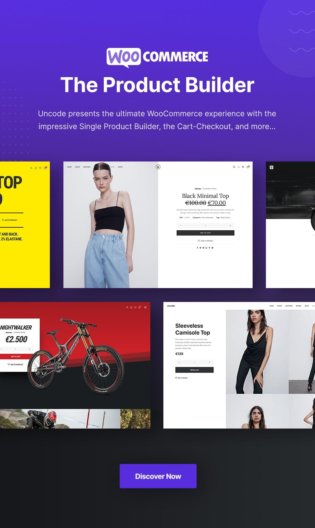 Uncode - Creative Multiuse & WooCommerce WordPress Theme - WooCommerce