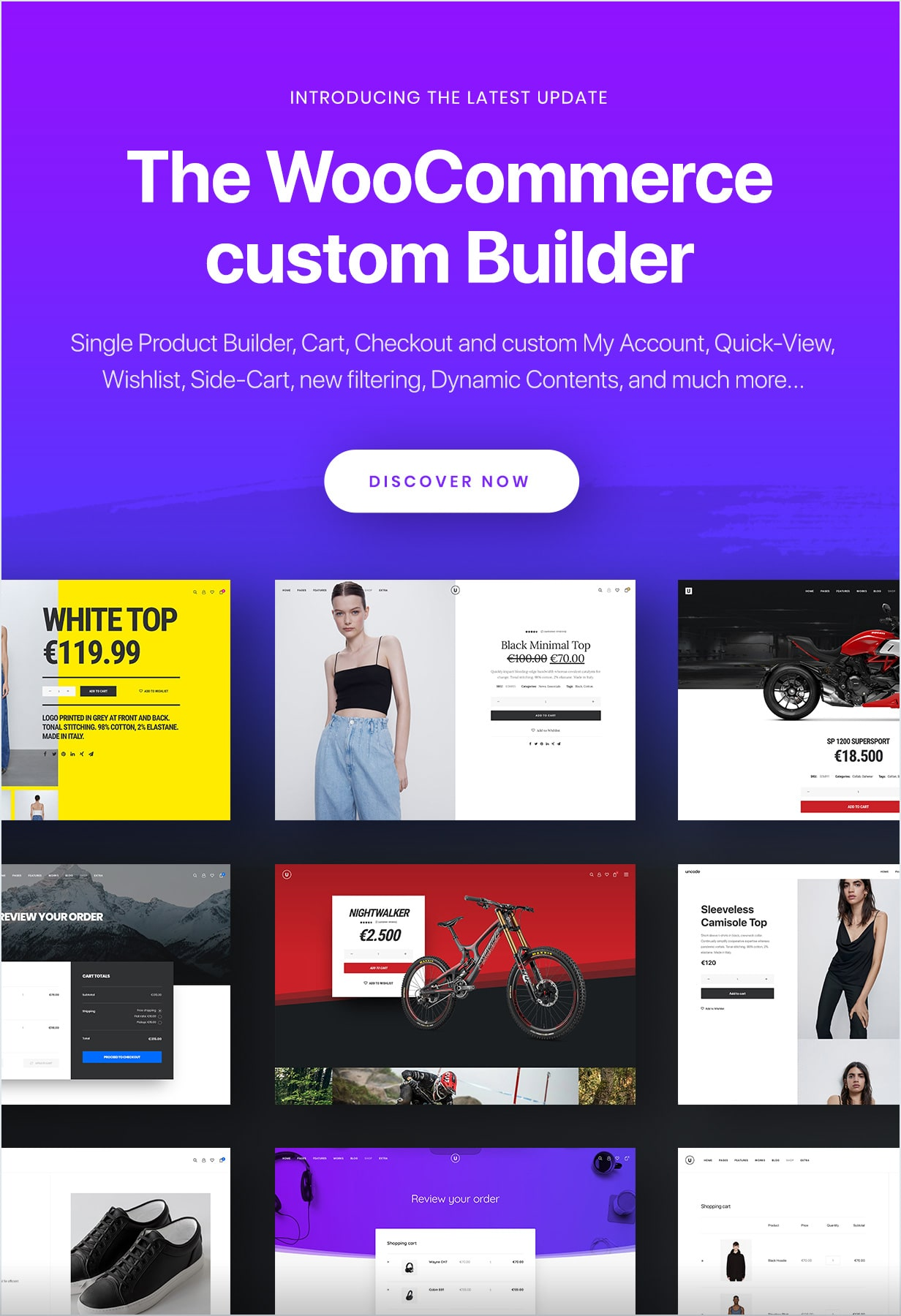 WooCommerce Builder